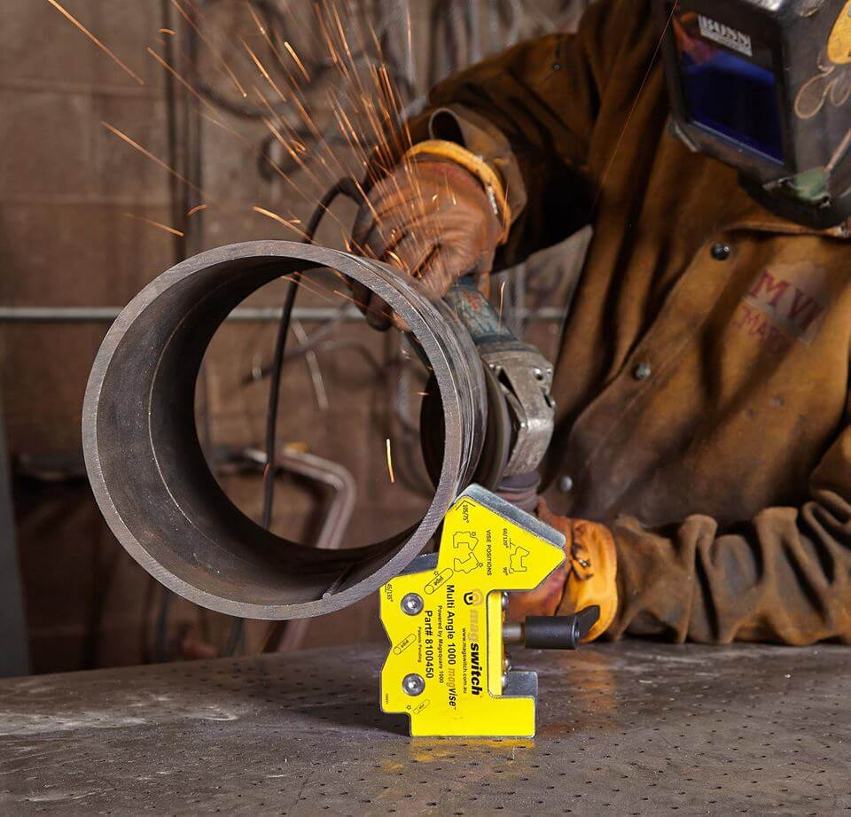 Welding & Fabrication Magnets - Magswitch Technology