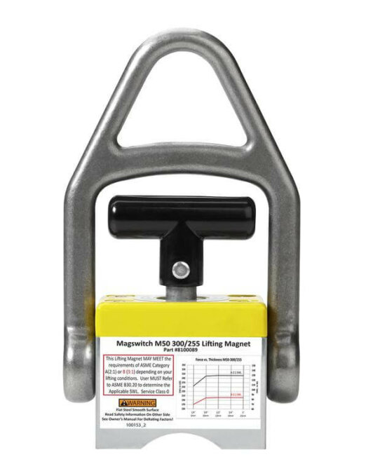 MLAY600 Lifting Magnet - 600 lb load