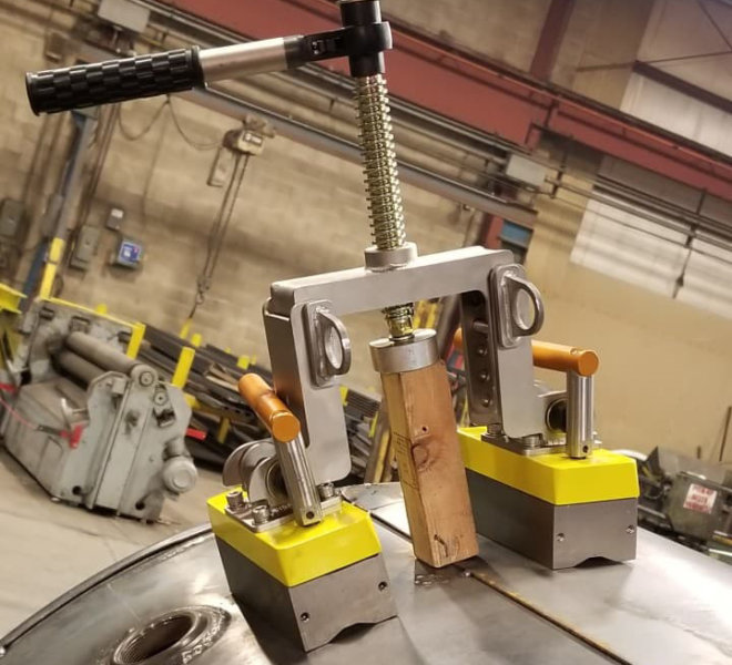 Shipbuilding Welding Alignment Tool Magswitch